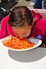 Food, pasta eating