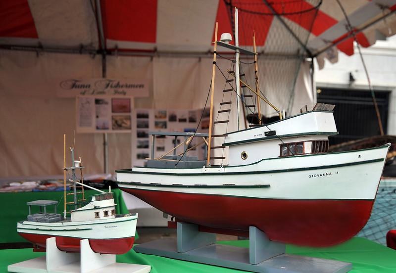 San Diego Sicilian Tuna Fleet Models