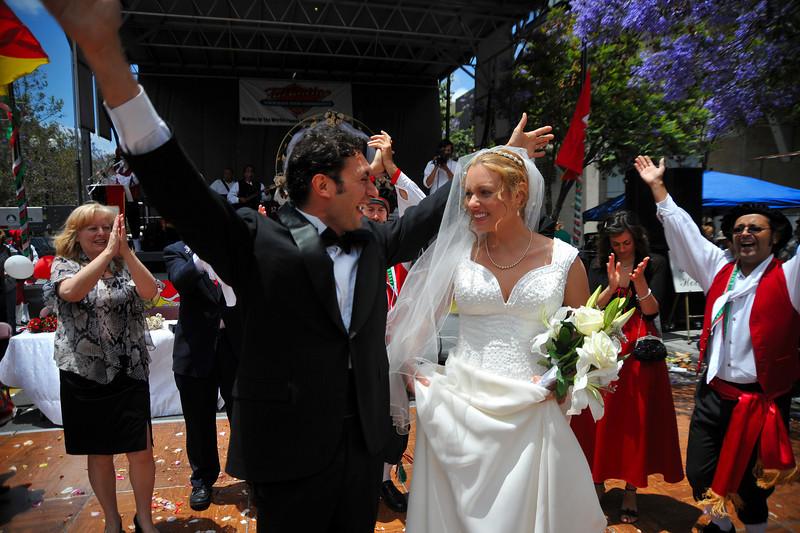 Sicilian Wedding, Joyous Salute