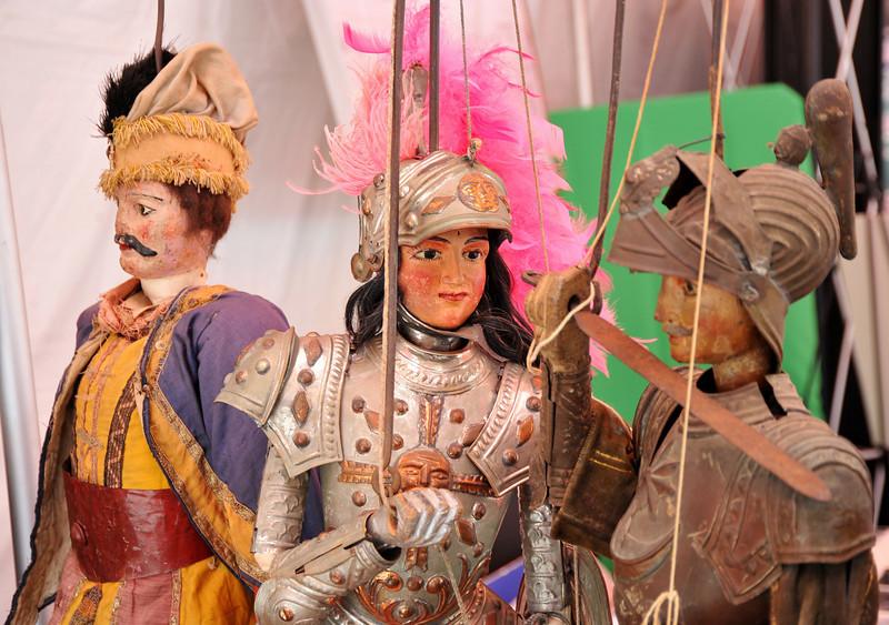 Cultural, Sicilian Puppet Display