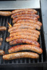 Food, Italian Sausages on Grill