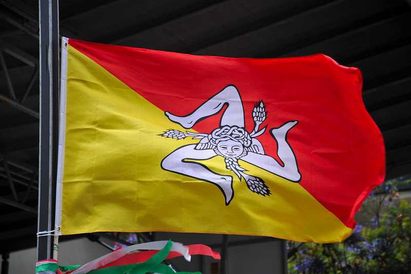 Original Sicily Flag