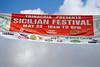 Sicilian Festival Sign