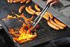 Tarantinos Sausage Grilling