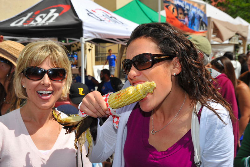 Food, Ladies with Corn