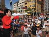 New York tenor Aaron Casuso entertains the audience at the 2008 Sicilian Festival in San Diego.