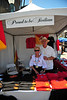 The Sicilian Festival booth featured a wide variety of items that carry the Sicilian Festival logo.