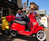 Italian automobile aficionados have much to see and admire at the Sicilian Festa. Each year car clubs convene here to show off their prized Italian vehicles.