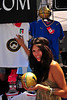Buyers can get their fill of soccer-themed merchandise at the Sicilian Festival.