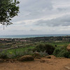Valley of the Temples - view to the ocean from the old city wall.