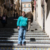 Caltagirone - too many steps for me.