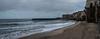 Cefalu - early morning beach scene.