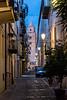 Cefalu - evening street scene.