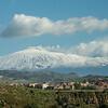 Approaching Mt. Etna.