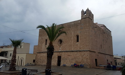 church in san vito lo capo, formerly a fort back in the day