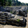 Roman Temple about 3 blocks long in Syracusa, site of sacrifices to the gods
