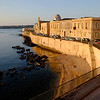 View from our balcony in Ortygia