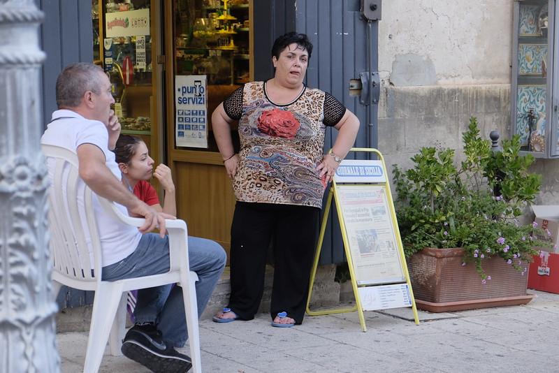 Cefalu city center, Sicily
