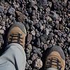 Rock sliding - Mt. Etna