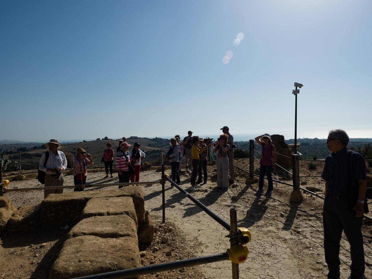 Group at Temple of Juno