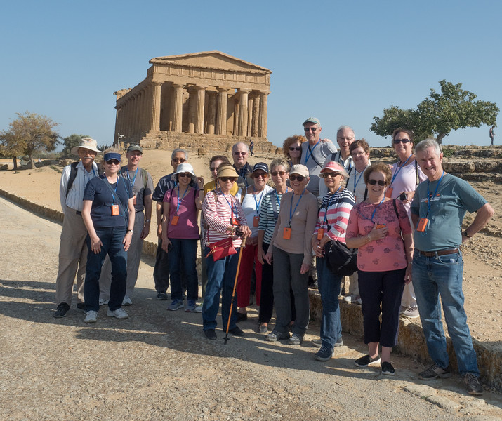 The Group at Temple of Concordia (430 BCE), Agrigento