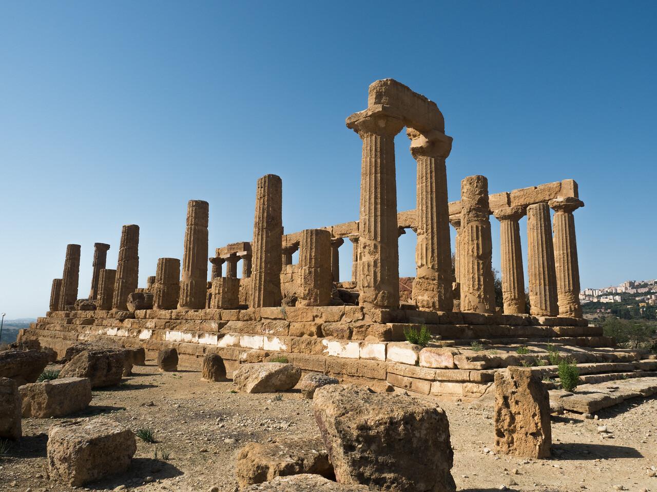 The temple of Juno (Hera Lakinia)