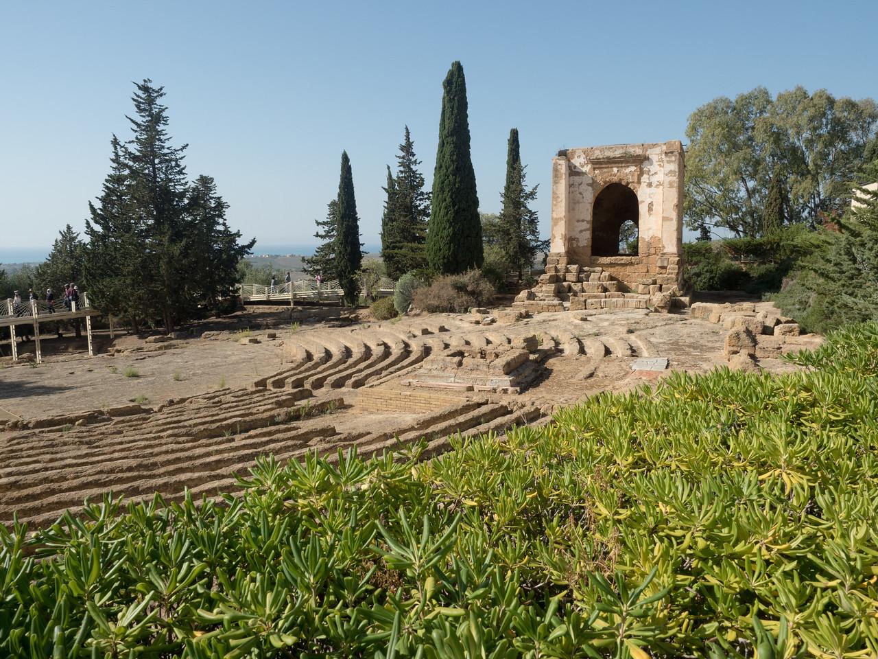 Greek Theatre, Agrigento