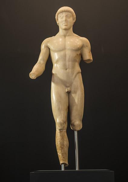 L'Efebo di Agrigento, (480-470 a.C