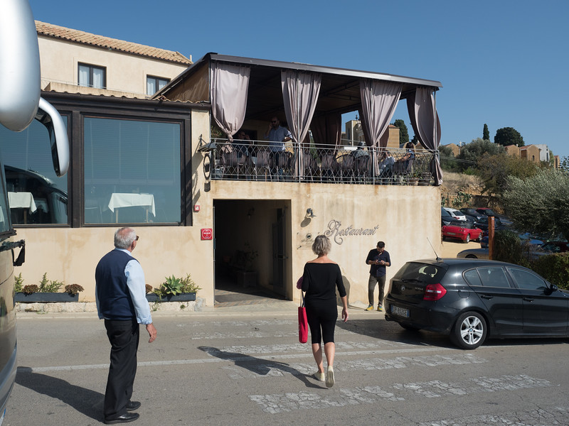Lunch Stop, Agrigento