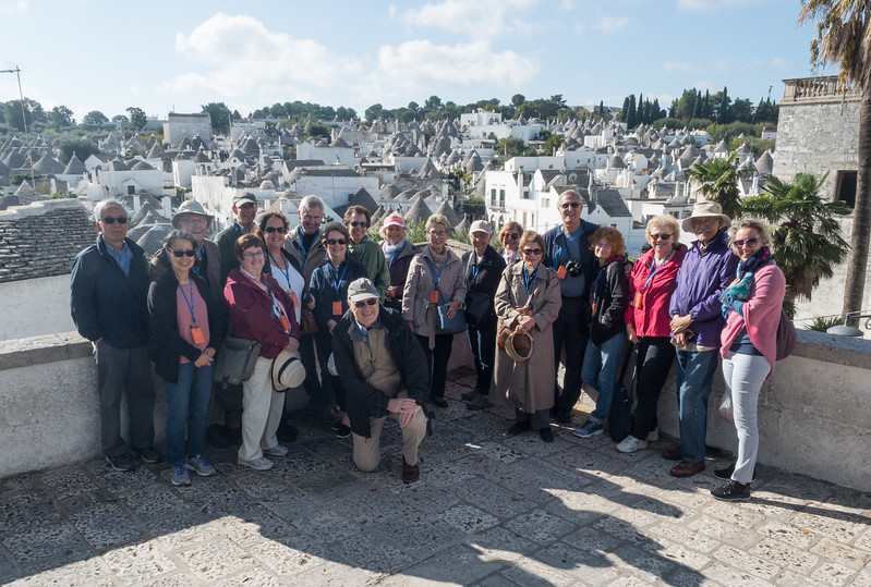 The Group at Alberobello