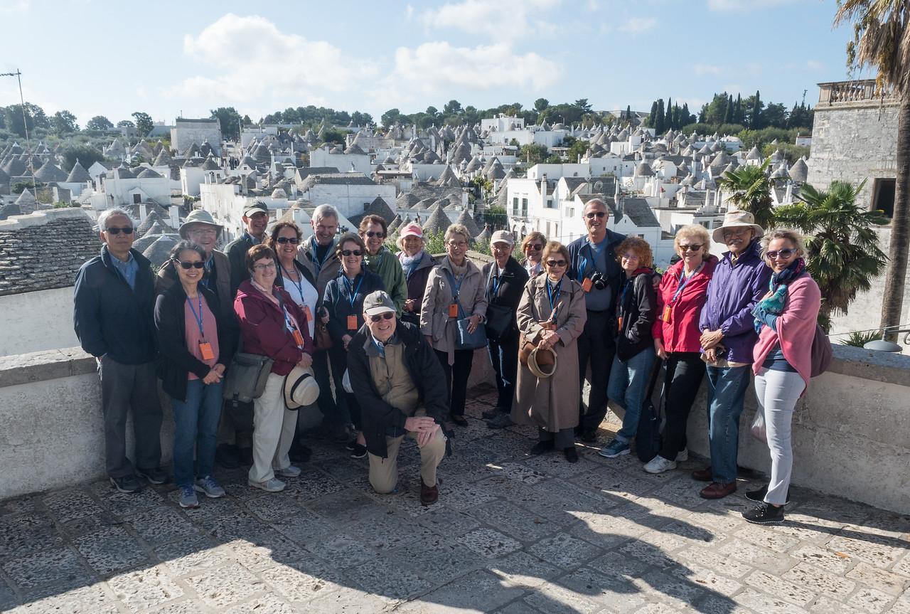 The Group at Alberobello