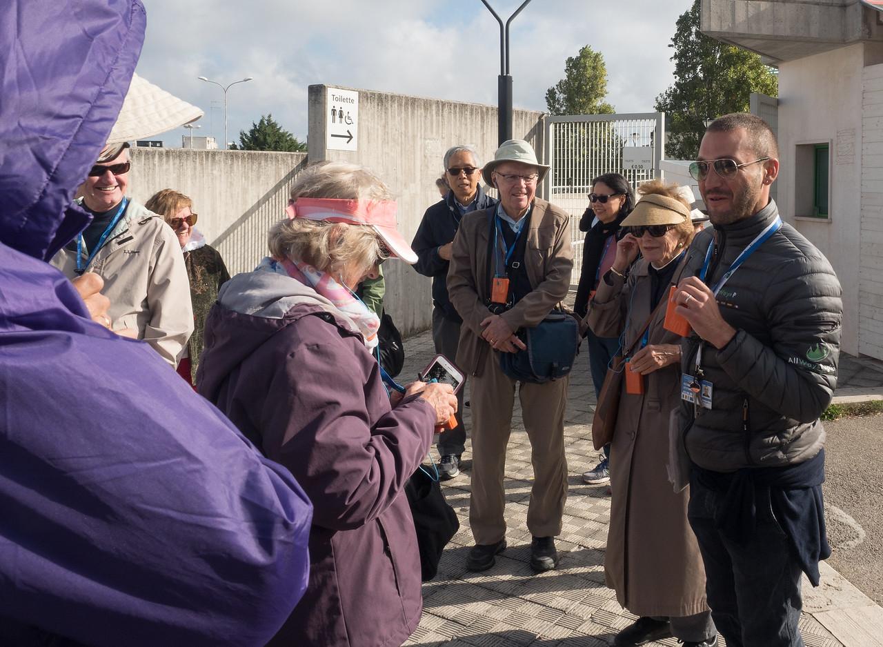 Our local guide in Alberobello