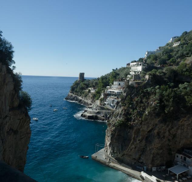 Amalfi Road scene