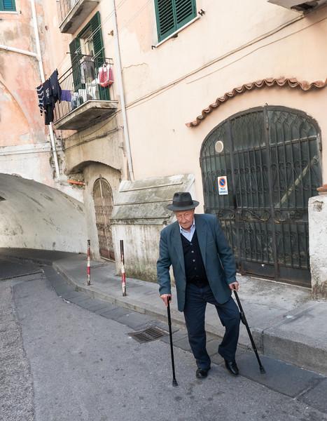 Amalfi Street Scene