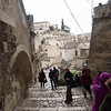 Down to the Sassi in Matera