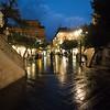 Taormina in the rain