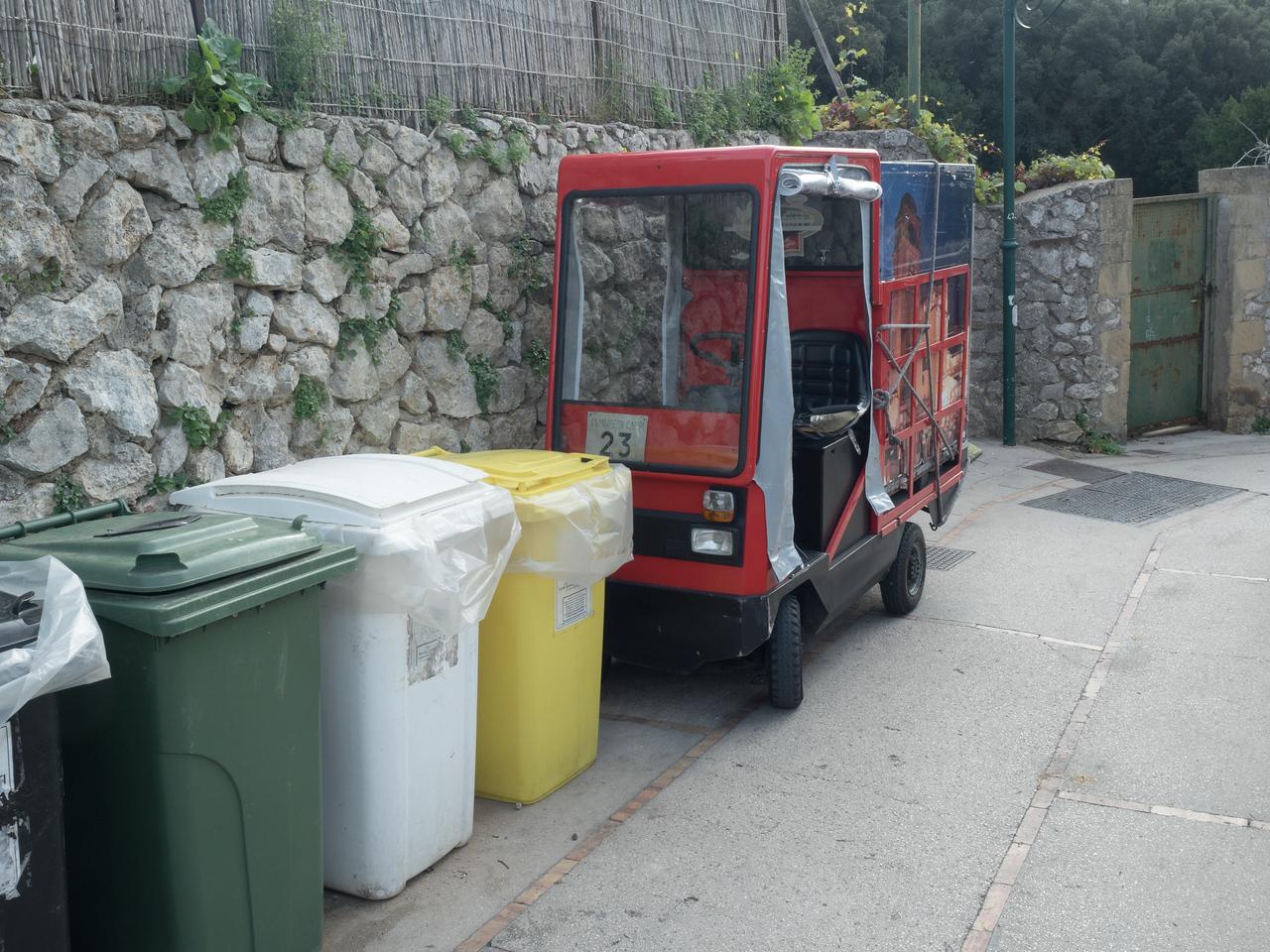 Capri transport