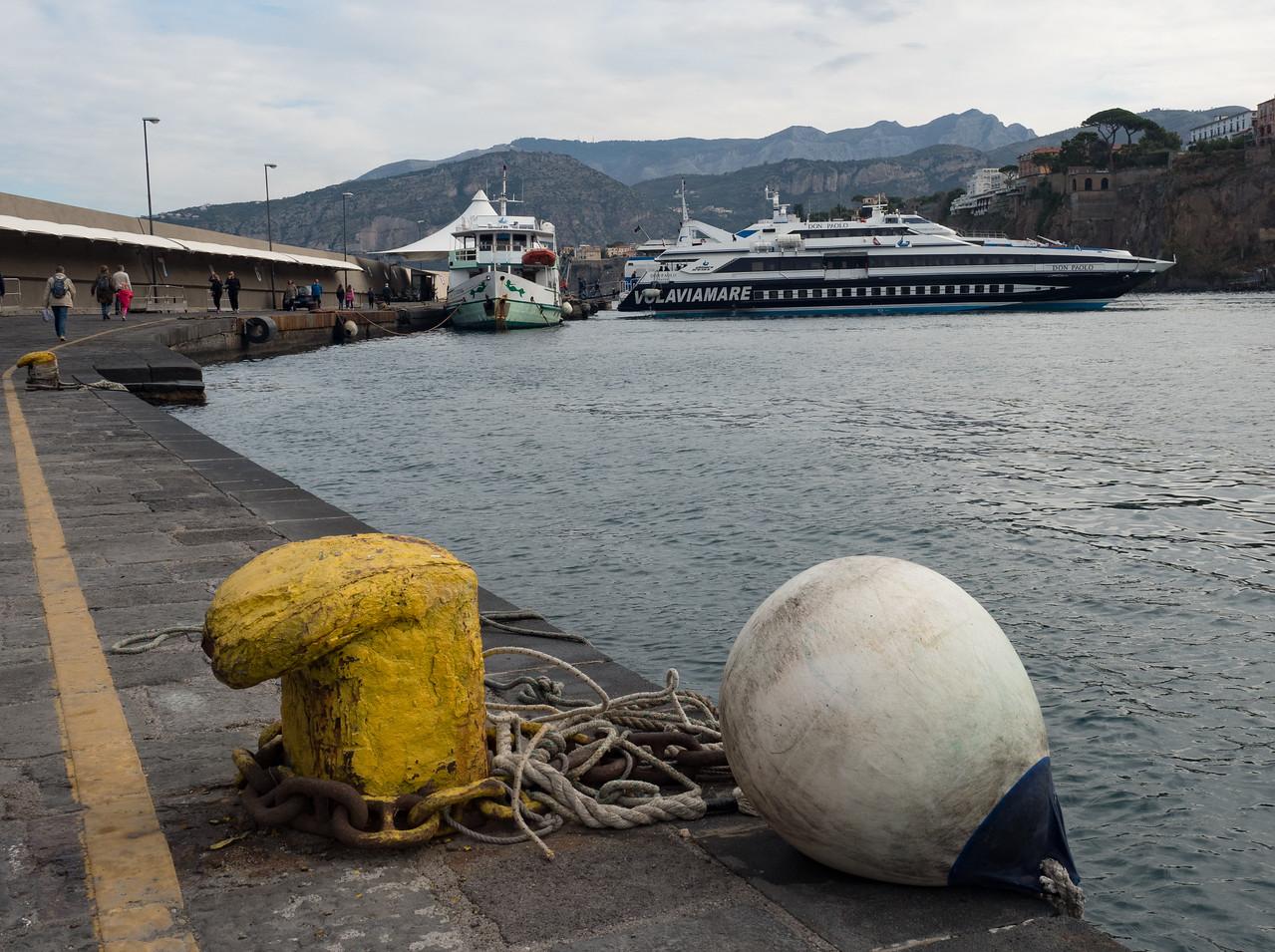Boat to Capri
