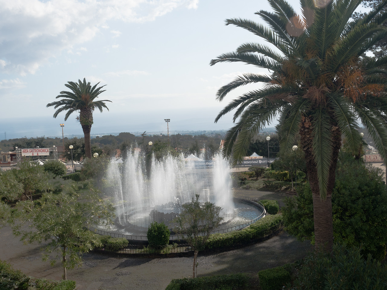View in Zafferana