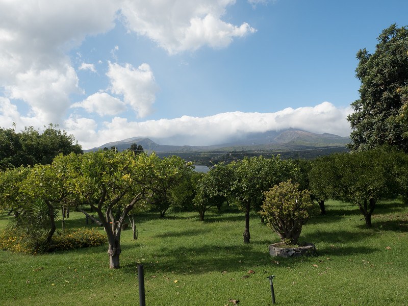 Mt Etna from the Codavolpe Farm