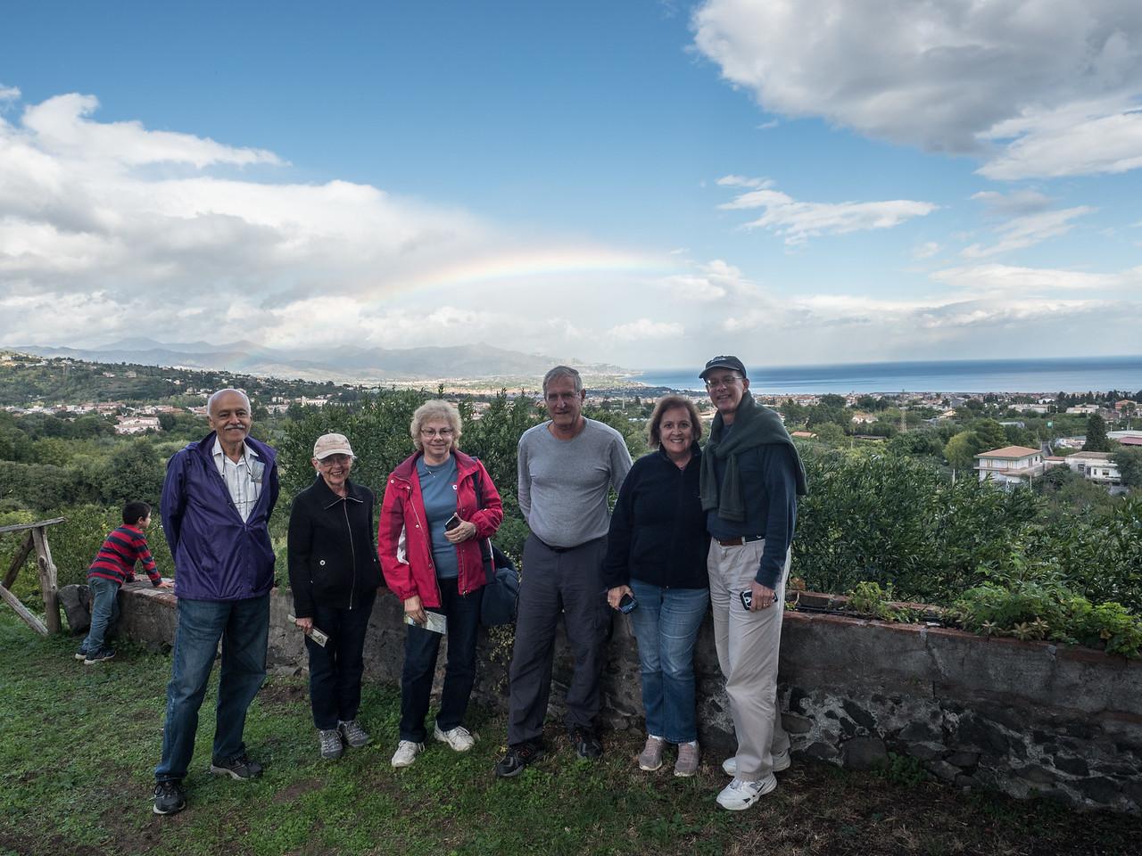 Alberto, Eleanor, Susan, Saul, Mary Alice and Rich