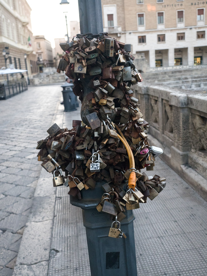 Love Locks? In Lecce