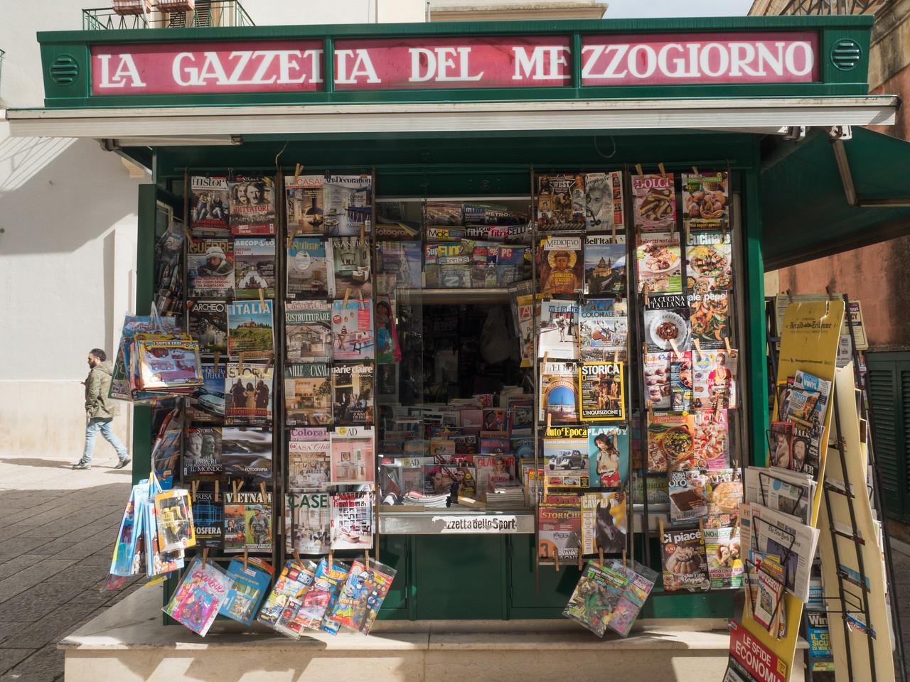 Matera Newsstand