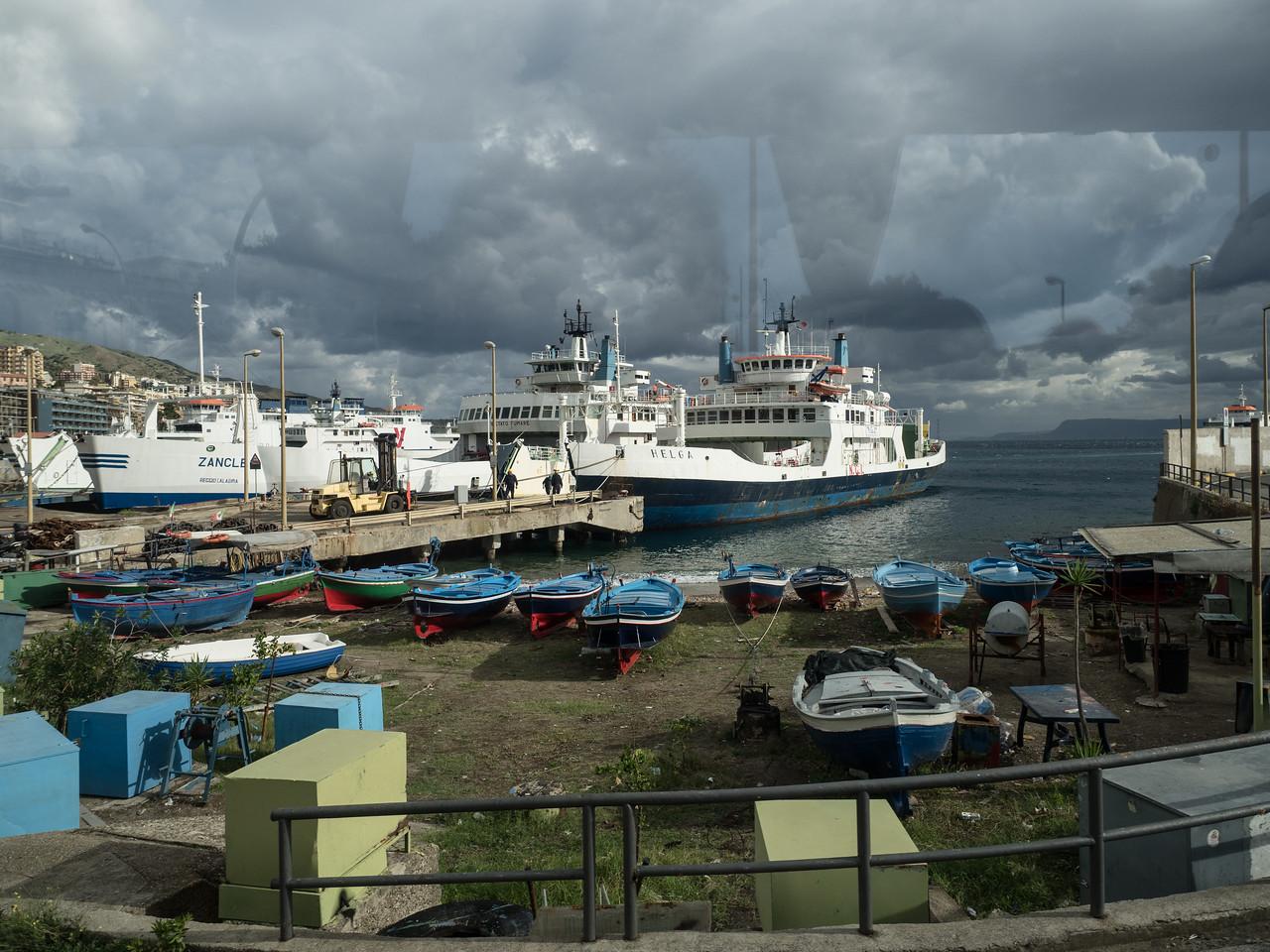 Ferries at Reggia Calabria