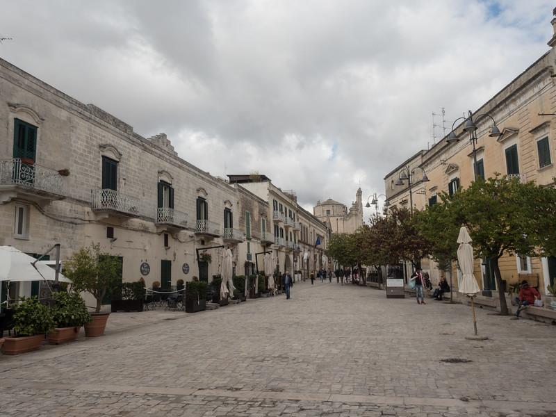 Piazza Pascoli. Matera