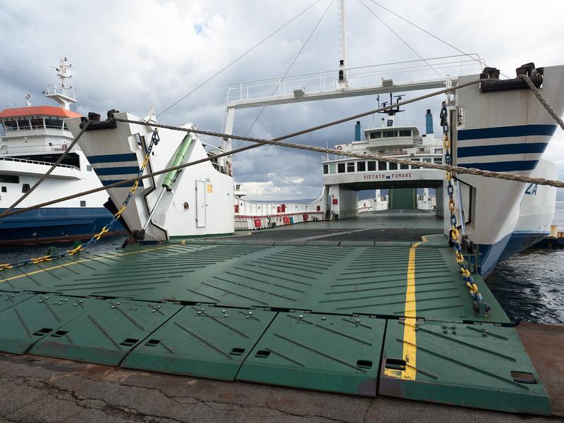 Ferry at Reggia Calabria