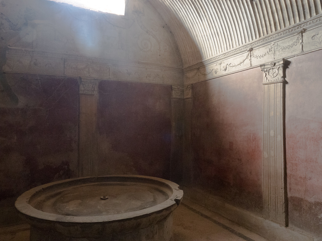 Baths at Terme Stabiane, Pompeii