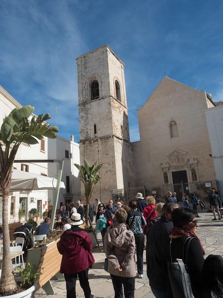 Town square in Polignano di Mare
