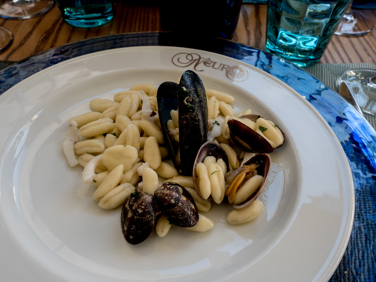 Pasta course, Lunch at Polignanho di Mare