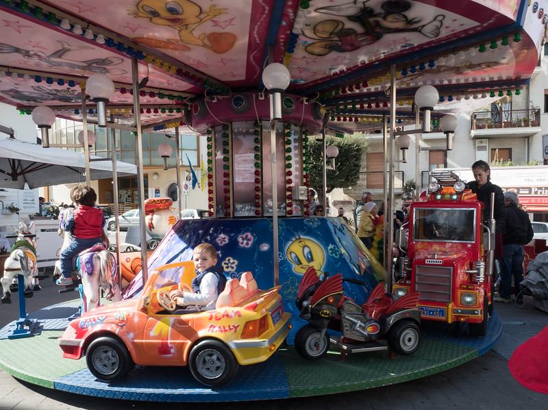 Carousel in Polignano di Mare